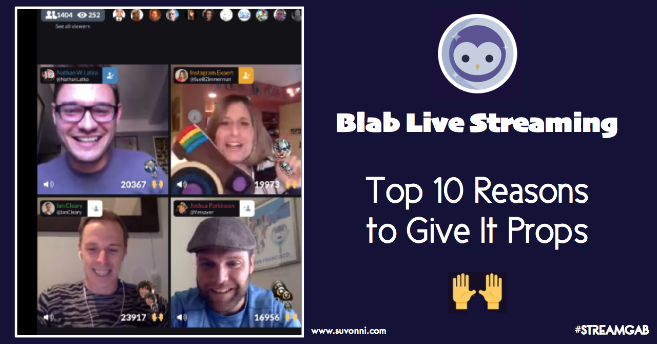 blab next level social networking live streaming