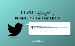 5 Simple (But Powerful) Benefits of Twitter Chats