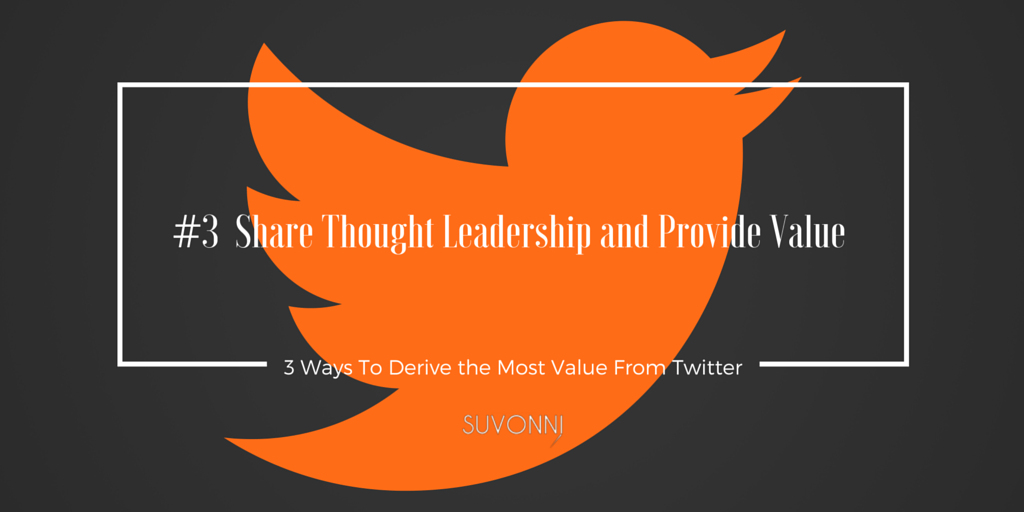 Twitter for Business: Thought Leadership