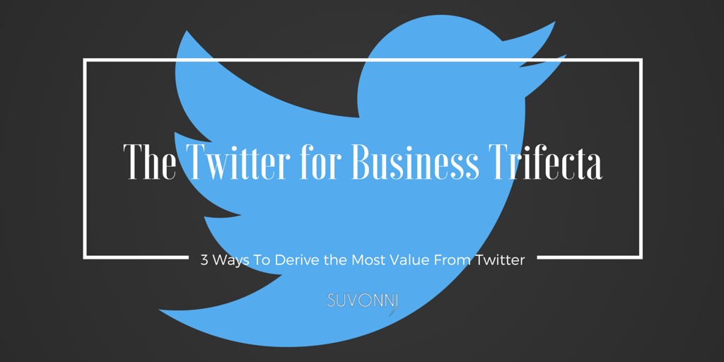 The Twitter for Business Trifecta