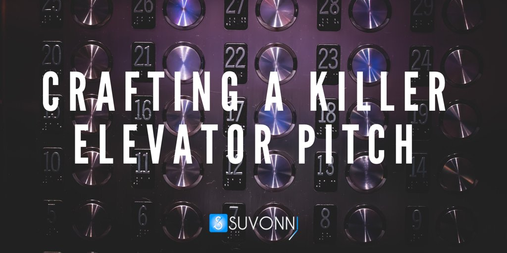 Crafting a Killer Elevator Pitch: The Four C's