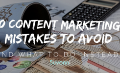 Top 10 Content Marketing Mistakes to Avoid