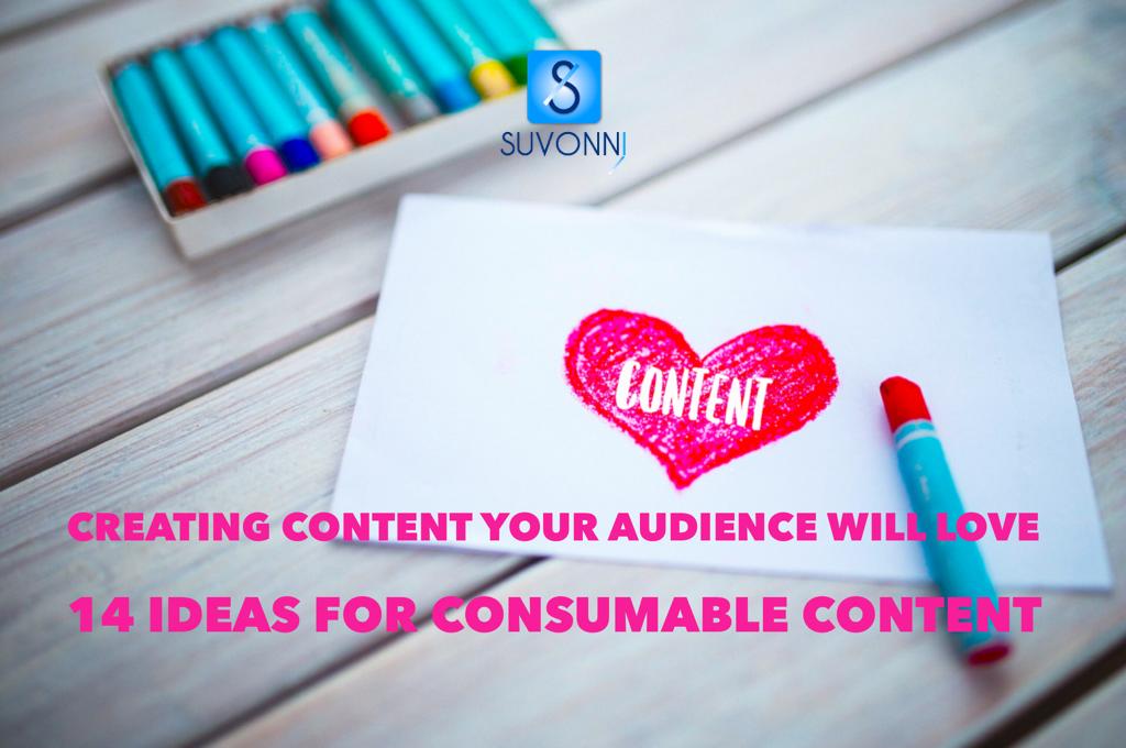 Creating Content: 14 Ideas